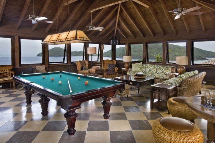 Bvi Golden Pavilion Villa Caribbean Bliss Game Room