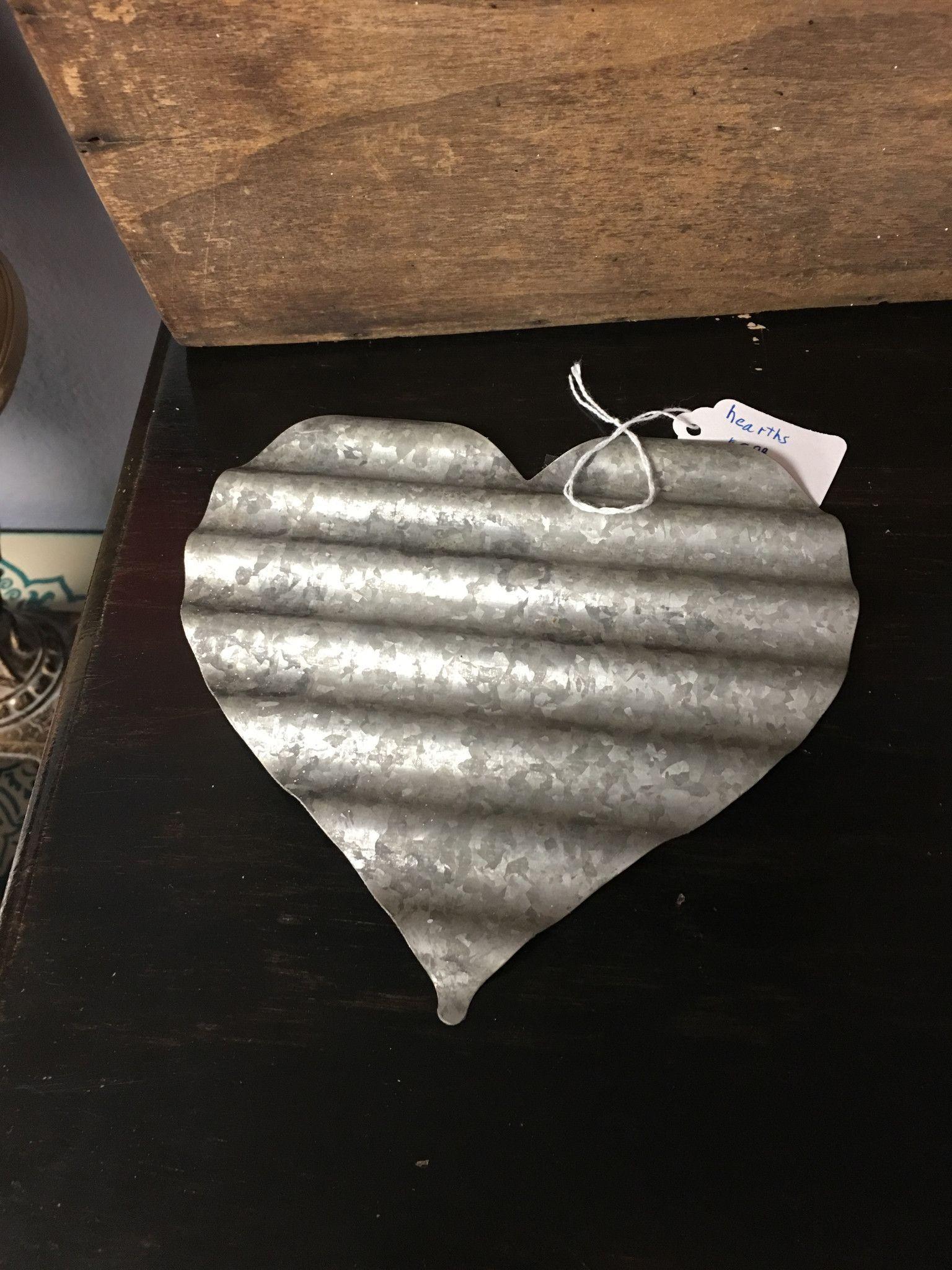 Corrugated metal heart metal tree wall art pinterest metal