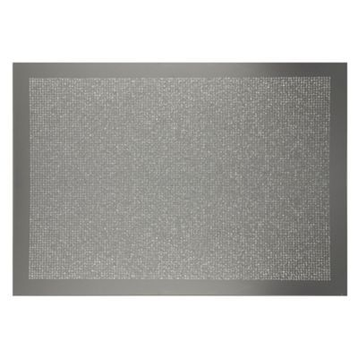 Star By Julien Macdonald Set Of Two Silver Glitter Placemats At Debenhams