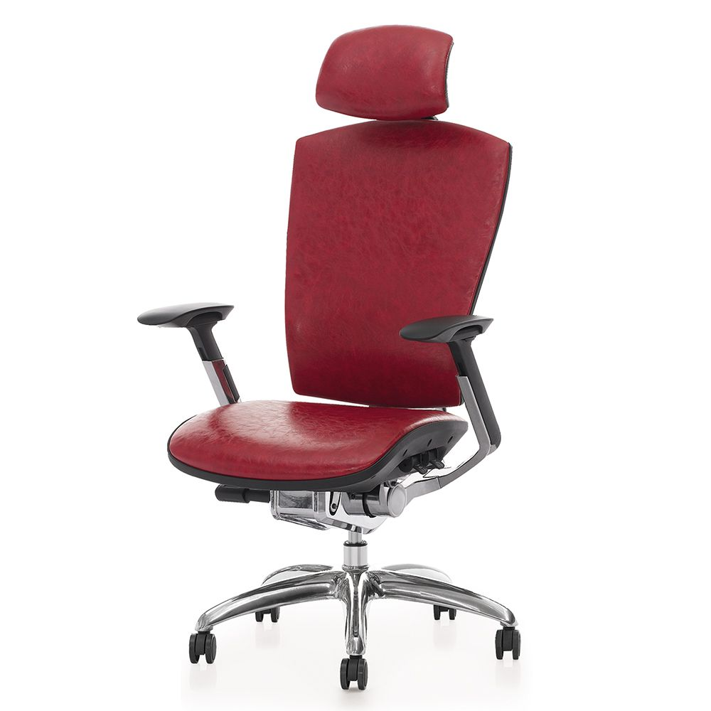 The High Back Ergonomic Swivel Executive Leather Office Chair Specification Boss Chair Has An Attractive Executive Leather Office Chair Boss Chair Office Chair