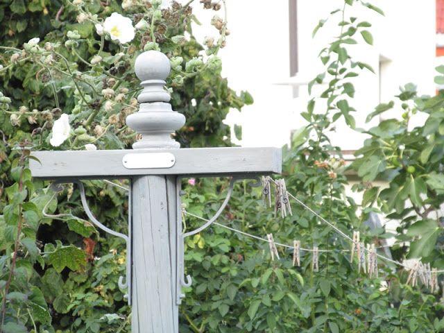 Waldstrumpf Eine neue Wäscheleine garten Pinterest - cottage garten deko