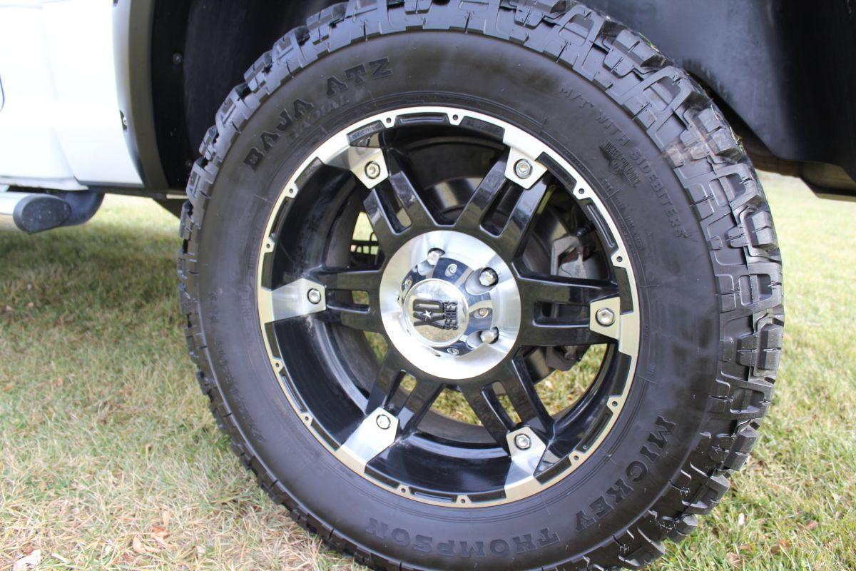 "Mickey Thompson 20"" tires & XD Series Spy Wheels Dodge"