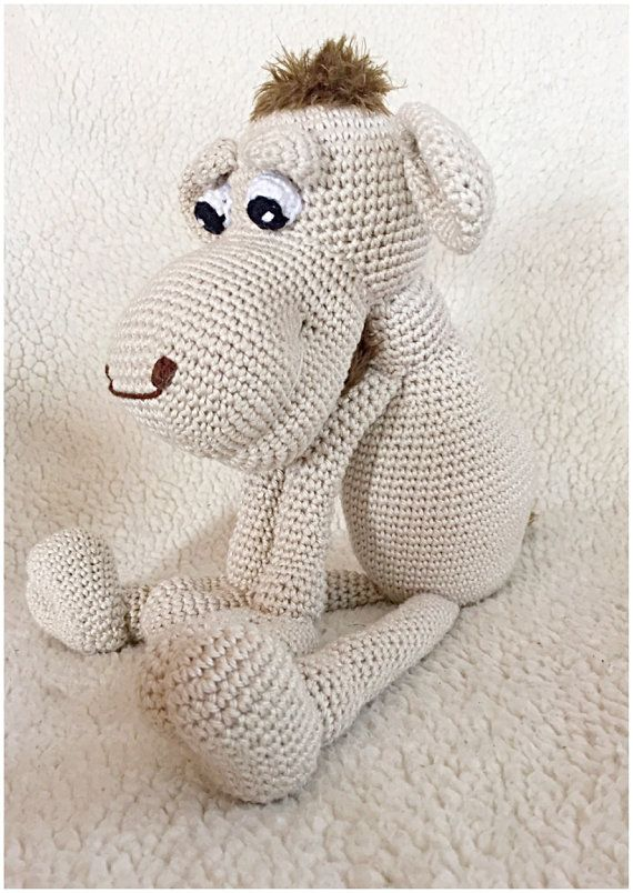 Camel crochet pattern amigurumi pdf tutorail in by Alinies on Etsy