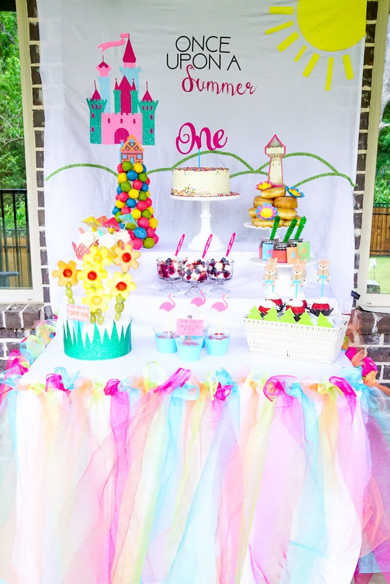 these once upon a summer first birthday ideas are perfect for a one