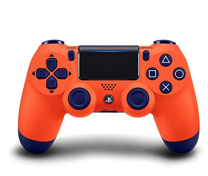 Edicao Limitada Controle Dualshock 4 Ps4 Laranja Sunset Playstation Ps4 The Last Of Us