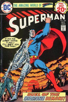 Superman #280. Duel of the Diamond Demons.