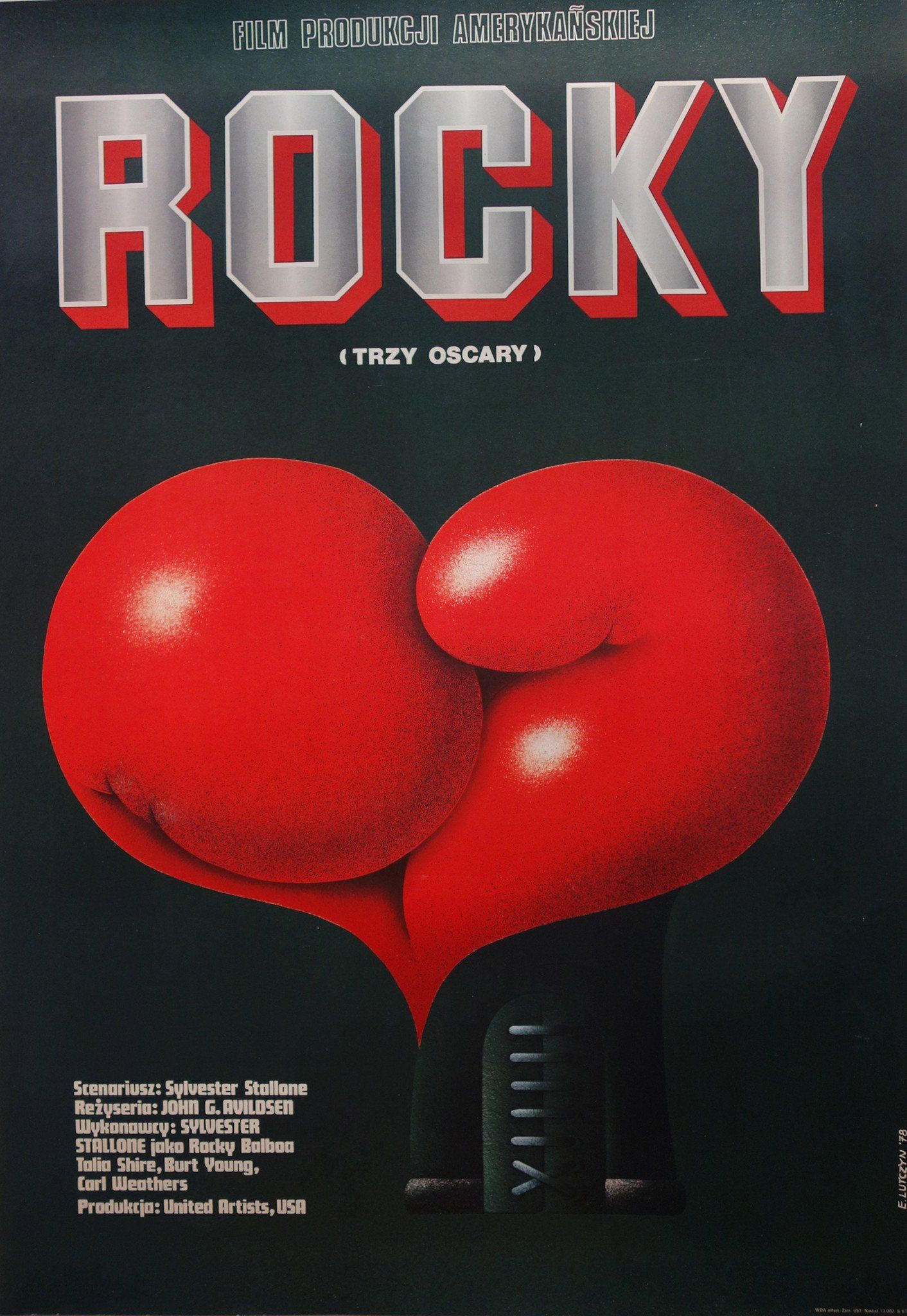 Rocky Polish In 2020 Polskie Plakaty Sylvester Stallone Rocky