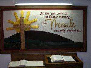 Christian Easter Bulletin Boards Easter Bulletin Board