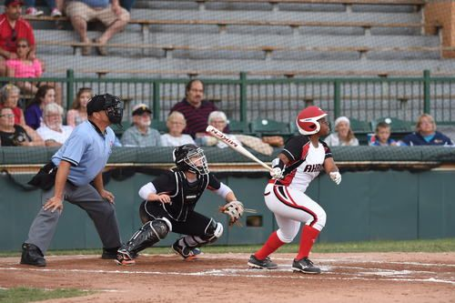 Nerissa Myers Akron Racers All Around Good Player Beast Mode Hitter Best Player Sports Softball