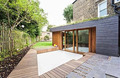 We Didn T Want Just Another Glass Box Riba Award Winning Extension Flat Roof Extension Green Roof House Extensions