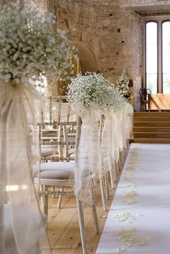 36 Baby's Breath Wedding Ideas For Rustic Weddings #stoelen