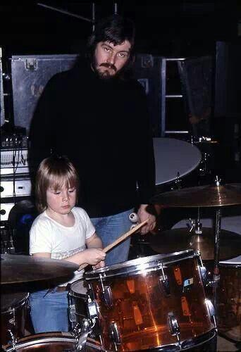 John Bonham and son Jason