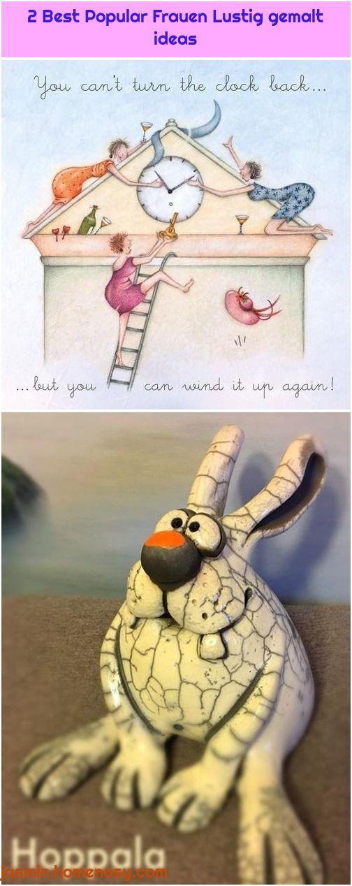 lustige gemalte bilder