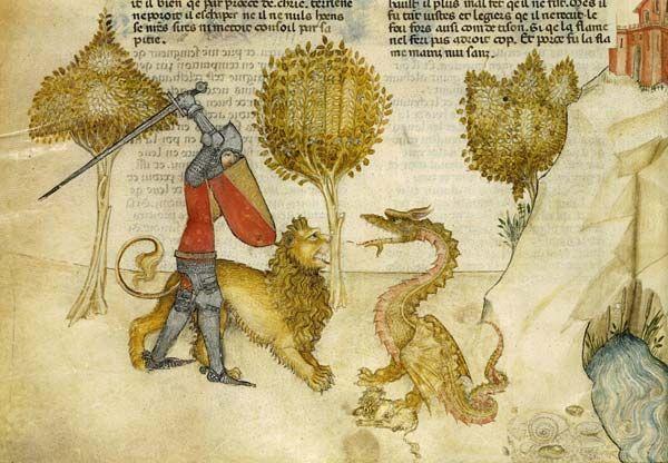 Bestiaire Du Moyen Age Bestiaire Roi Arthur Art Medieval