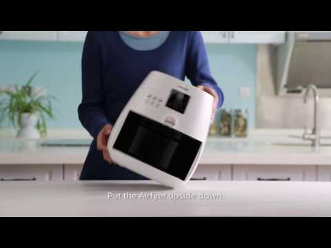Cleaning Tutorial of Philips Airfryer YouTube Cleaning