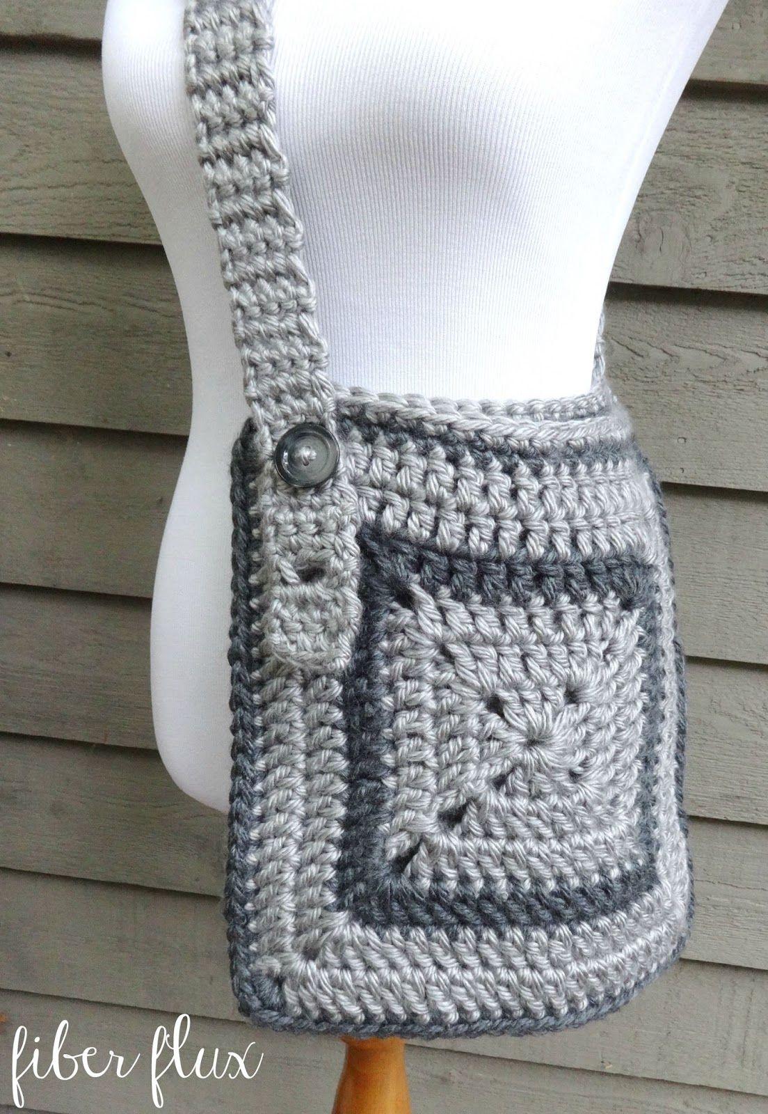 Fiber Flux: Free Crochet Pattern...Cozy Messenger Bag! New ...