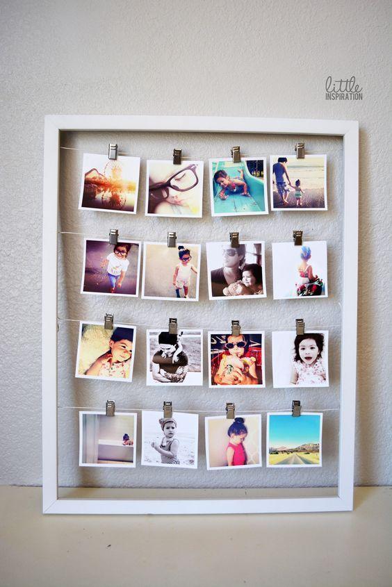 Appendere le foto per decorare casa 20 idee per ispirarvi for Idee per decorare