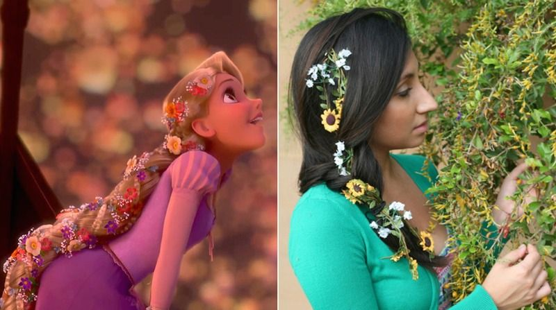 12 #Wedding #Hairstyles Inspired By #Disney Princesses For A #Fairytale Beauty Look