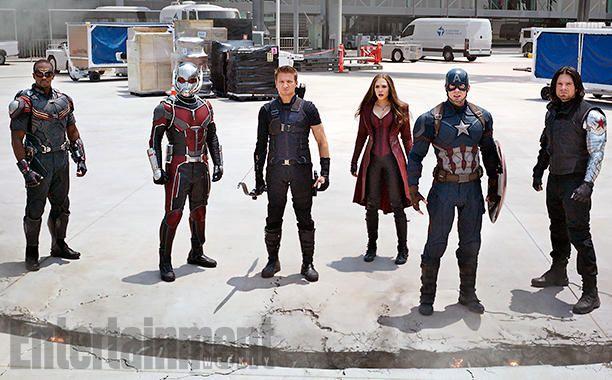 - 'Captain America - Civil War' - Inside the Biggest Superhero Showdown - EW.com