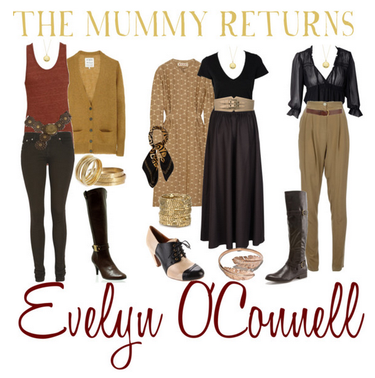 The Mummy Returns ~ Evelyn O'Connell inspired wardrobe