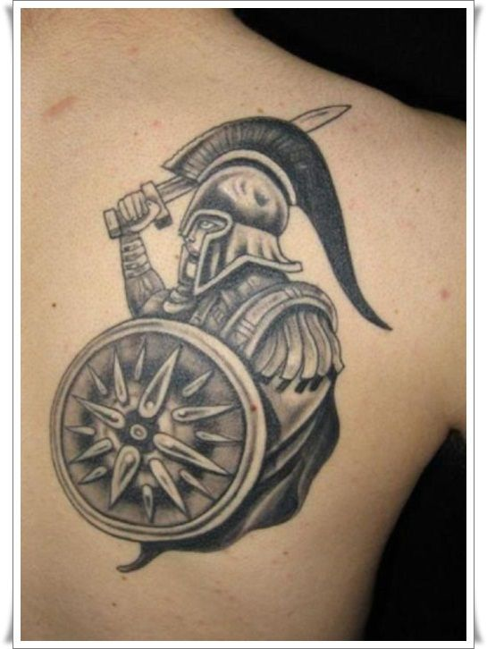 17 of the most powerful warrior tattoo designs warrior tattoos tattoo and soldier tattoo. Black Bedroom Furniture Sets. Home Design Ideas