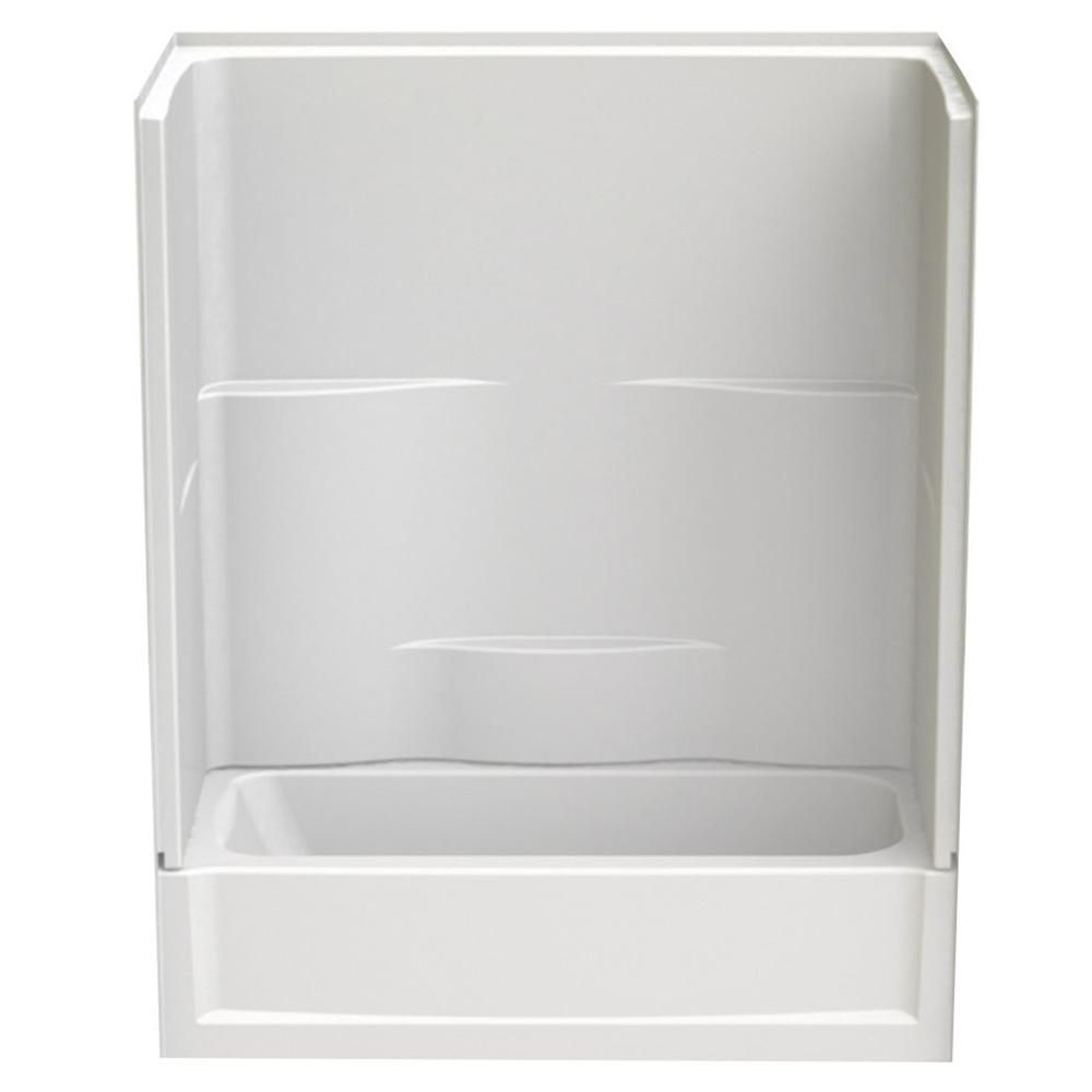 Aquatic Remodeline 60 In X 30 In X 72 In 2 Piece Bath And