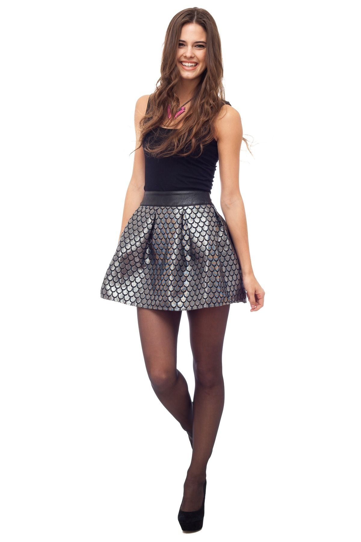 Silver Spoon Party Skirt