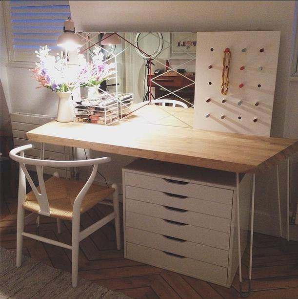 Estée / Essiebutton's Makeup Table | http://instagram.com/essiebutton #essiebutton