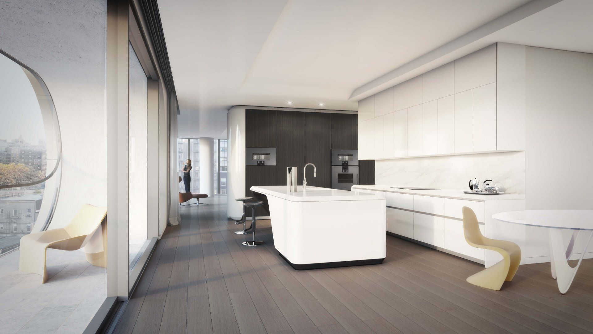 520 West 28th Street - Design - Zaha Hadid Architects | Kitchen ...
