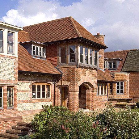 arts crafts farmhouse hampshire england houses pinterest hampshire bricks and. Black Bedroom Furniture Sets. Home Design Ideas