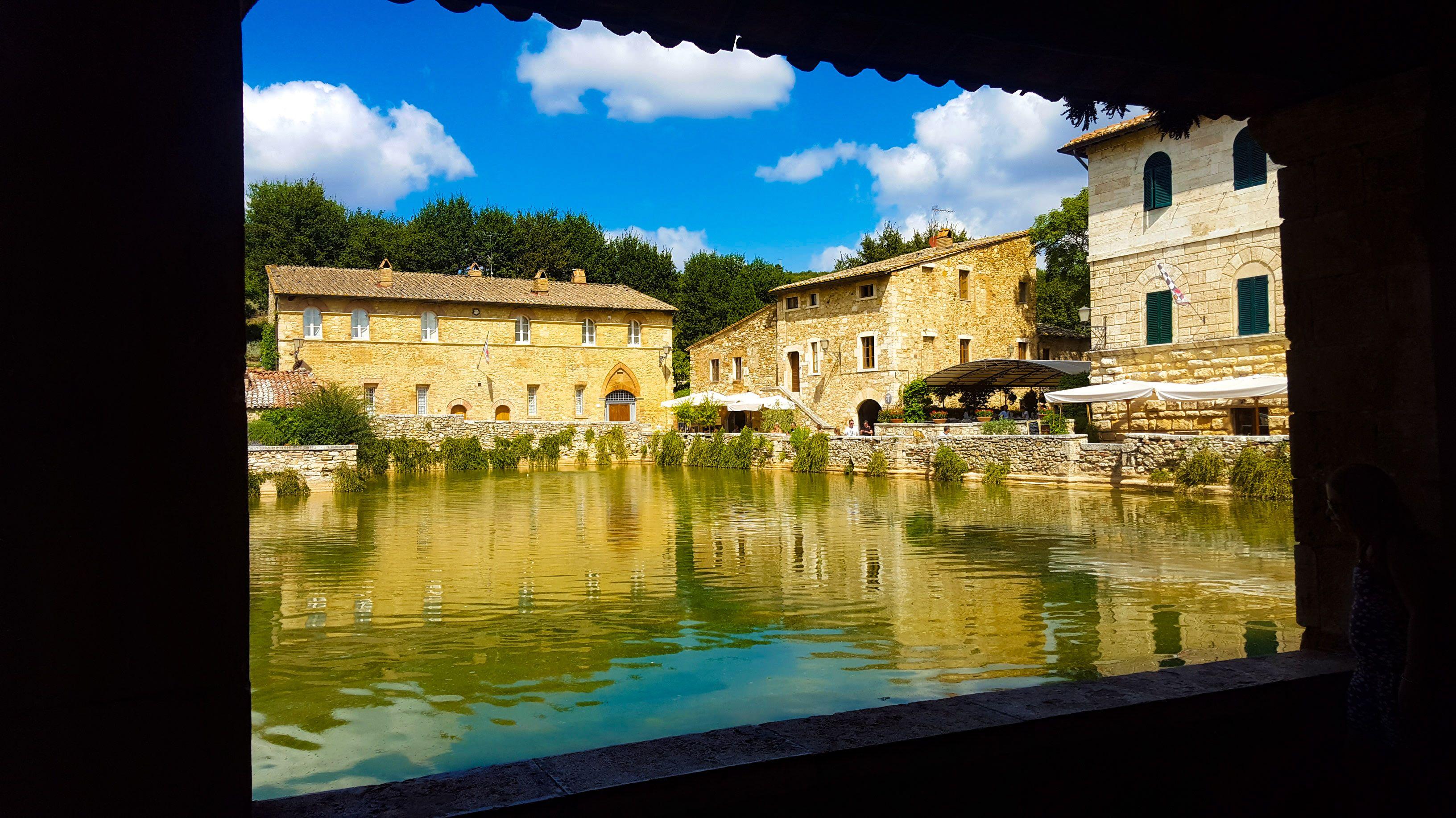 The Gorgeous Tuscan Town Of Bagni Vignoni Italy Travel