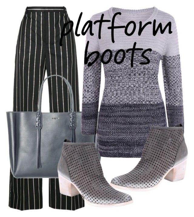 """""""Platform Boots"""" by anggunan ❤ liked on Polyvore featuring Balenciaga, Lanvin and Dolce Vita"""