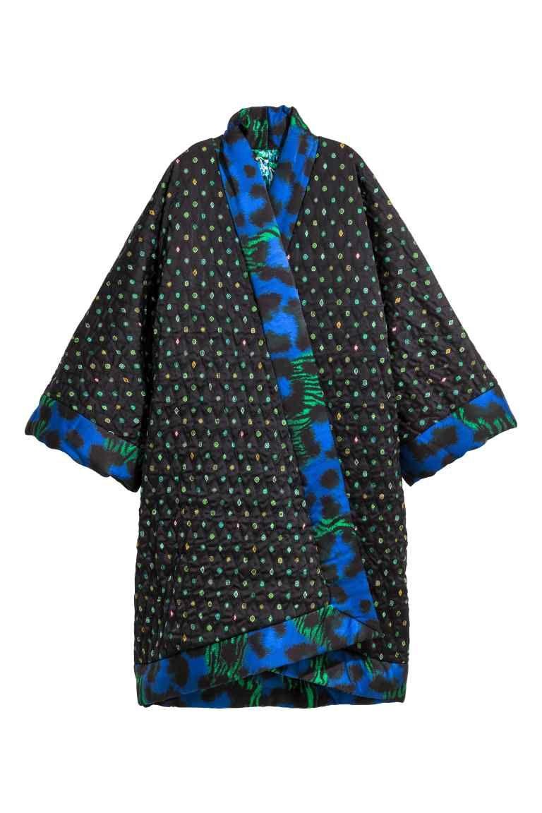 Kenzo H En Matelassé amp;m Soie Kimono X Réversible Et qtAzt4v