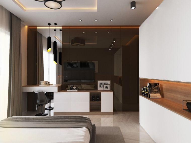 Exceptionnel Chambre De Luxe Idee Decoration Mur Moderne
