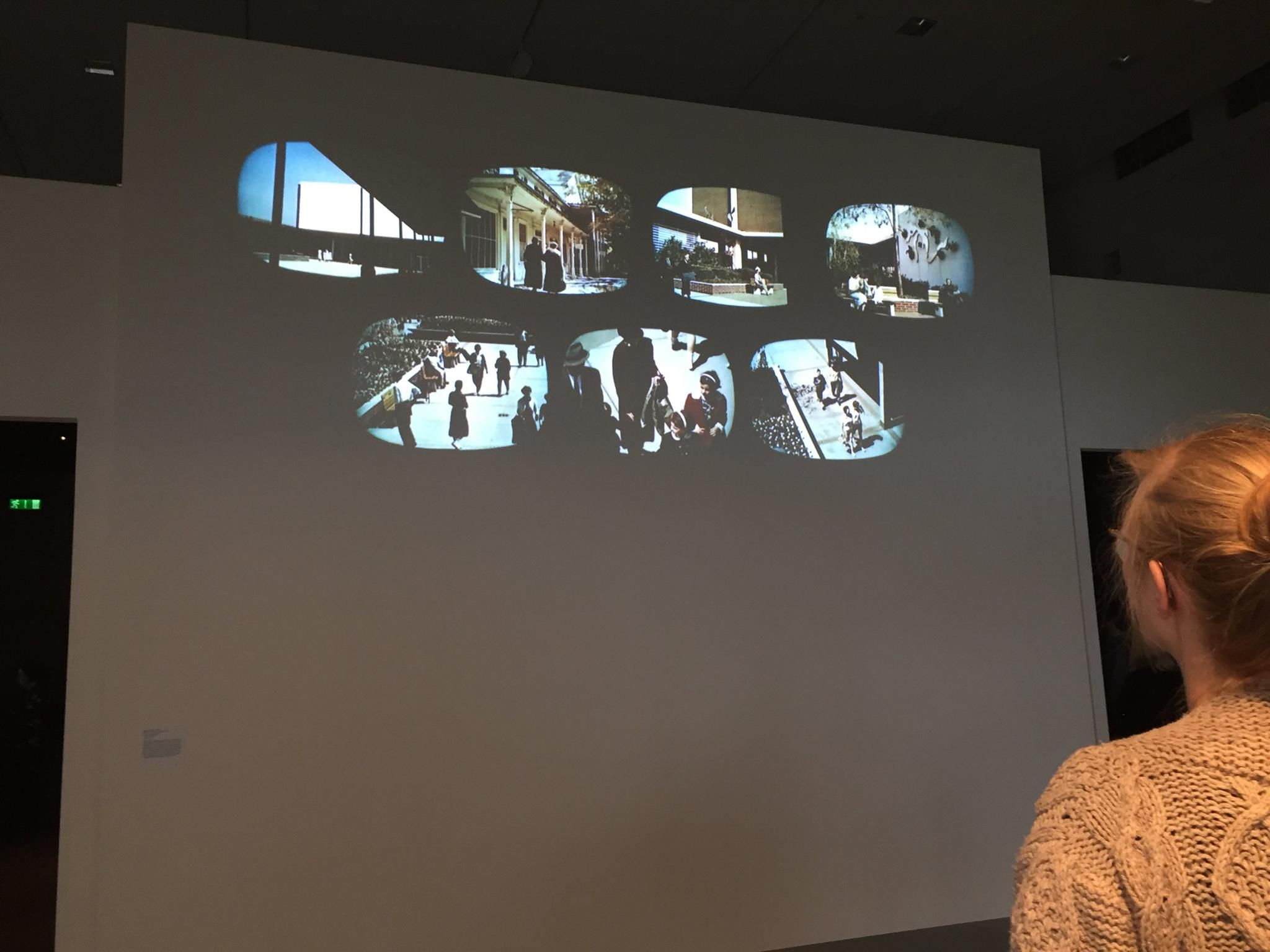 Eames MultiScreen Film Glimpses Of The USA Shown In Small Scale - Small museums in usa