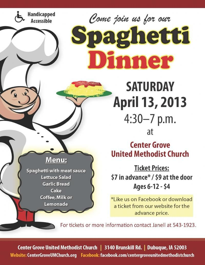 a spaghetti dinner fundraiser is a tried and true fundraising event