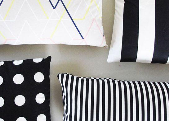 DIY Kissen  einfache Anleitung