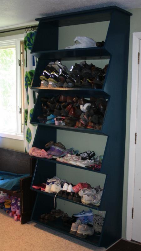 Beautiful Diy Shoe Closet