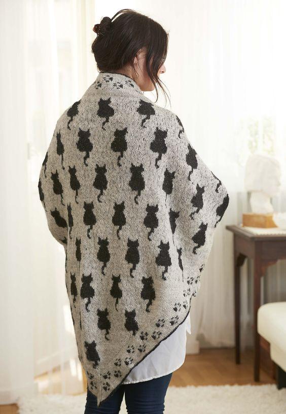 Ravelry: Cat shawl Sudderudden by Susanne Ljung | Stricken ...