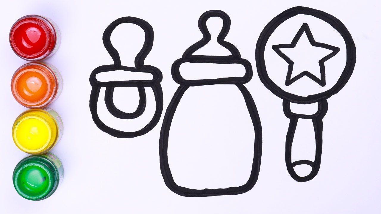 Bagaimana Menggambar Aksesoris Bayi Mudah Menggambar Dan