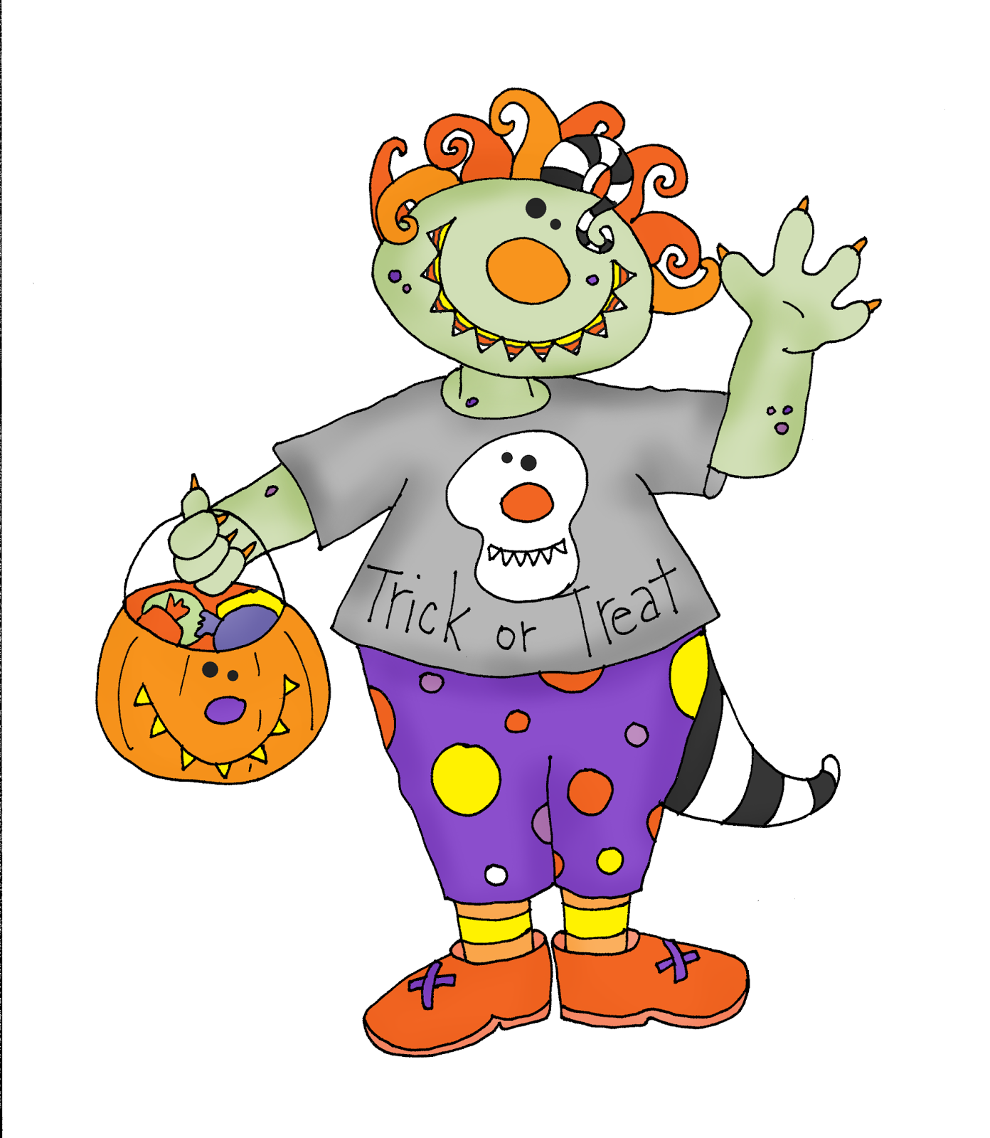 Trick Or Treat Monster