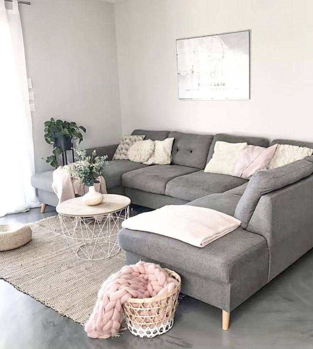 Pin By Turquoisedreams On House Decor In 2020 Sofa Gris Living Room Color Living Room Designs