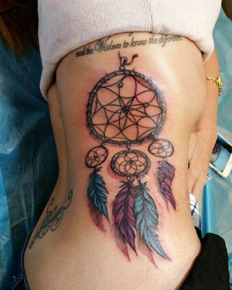 Dream Catcher Tattoo On Rib Cage Top 40 Rib Cage Tattoos of AllTime Tattoos Pinterest Rib 25