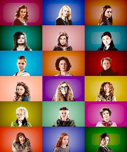 Hogwarts Alumni Female Harry Potter Harry Potter Characters Harry Potter Female Characters