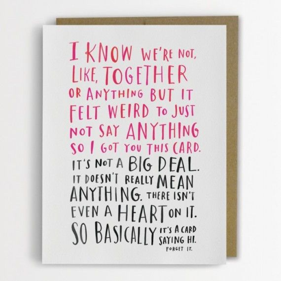 21 Awkward Valentine S Day Cards For Your Confusing Modern
