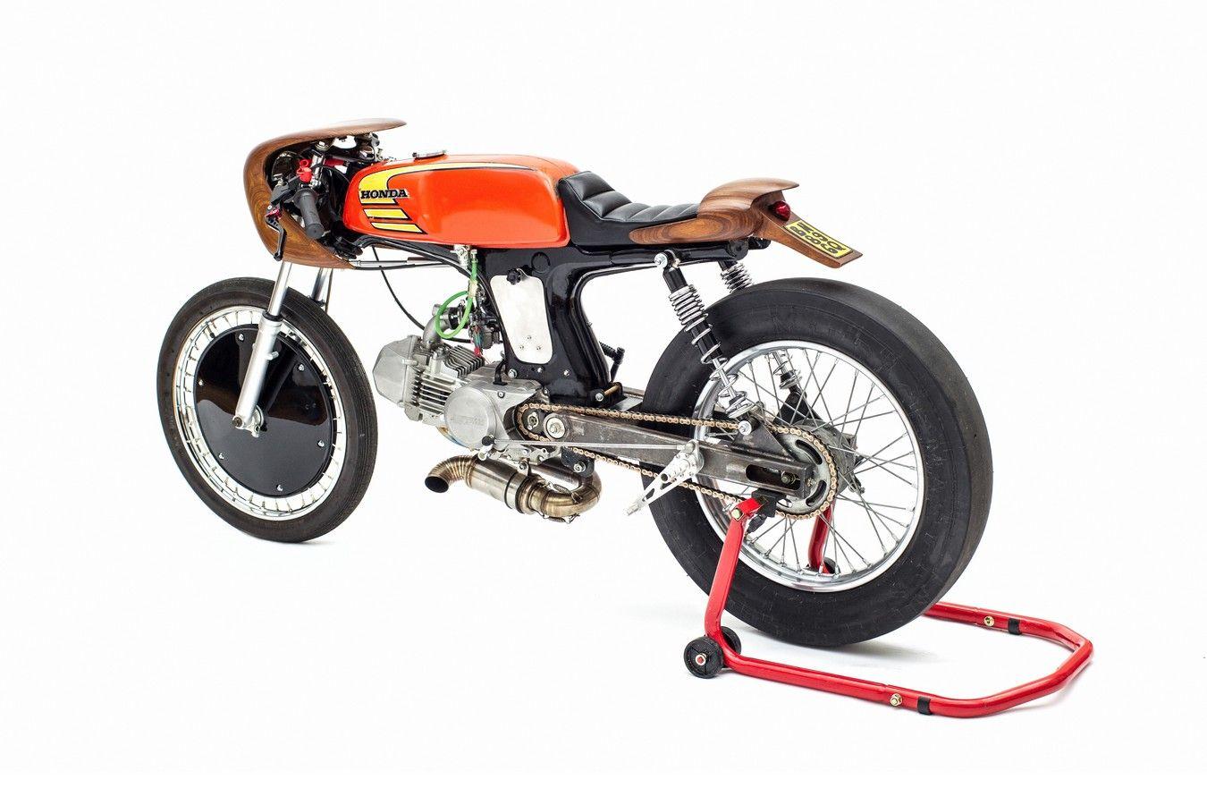 """""""La Chute"""" Honda ss50 - RocketGarage - Cafe Racer Magazine"""