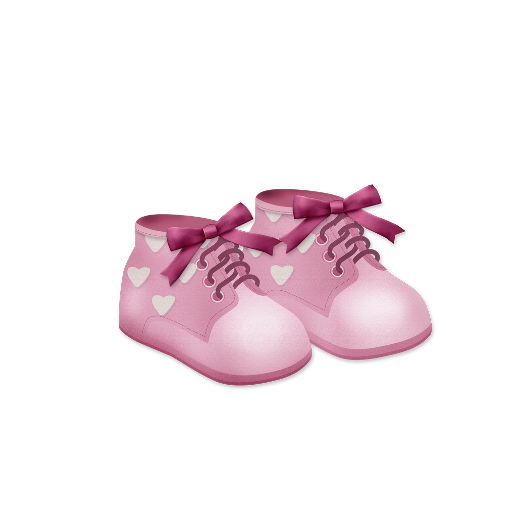 Baby Girl Shoes Baby Pink Shoes Baby Shower Clipart Baby Girl Shoes