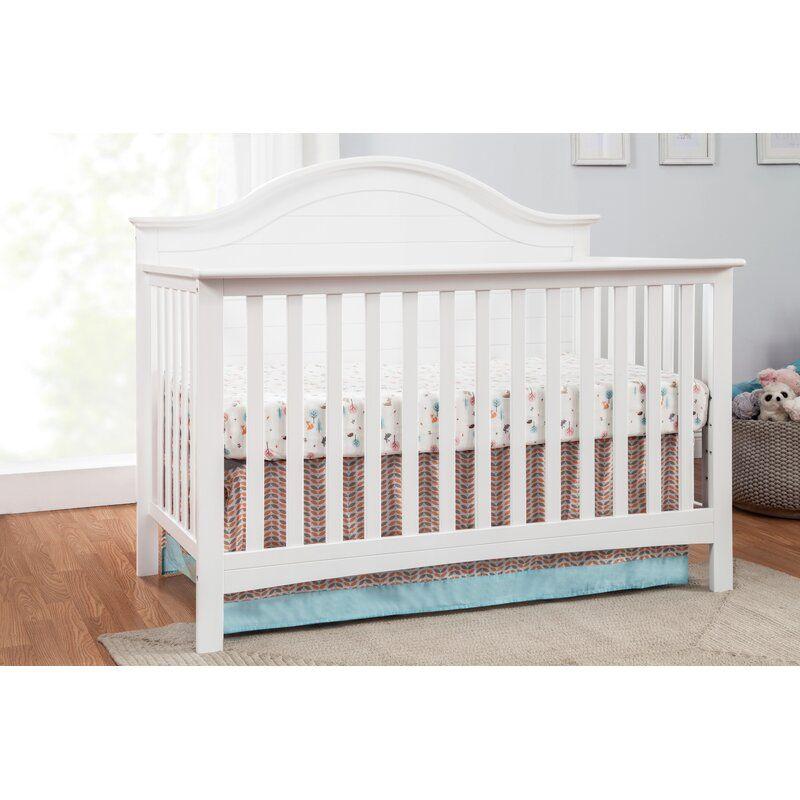 Carter S By Davinci Nolan 4 In 1 Convertible Crib Reviews Wayfair In 2020 Convertible Crib White Convertible Crib Plank Headboard