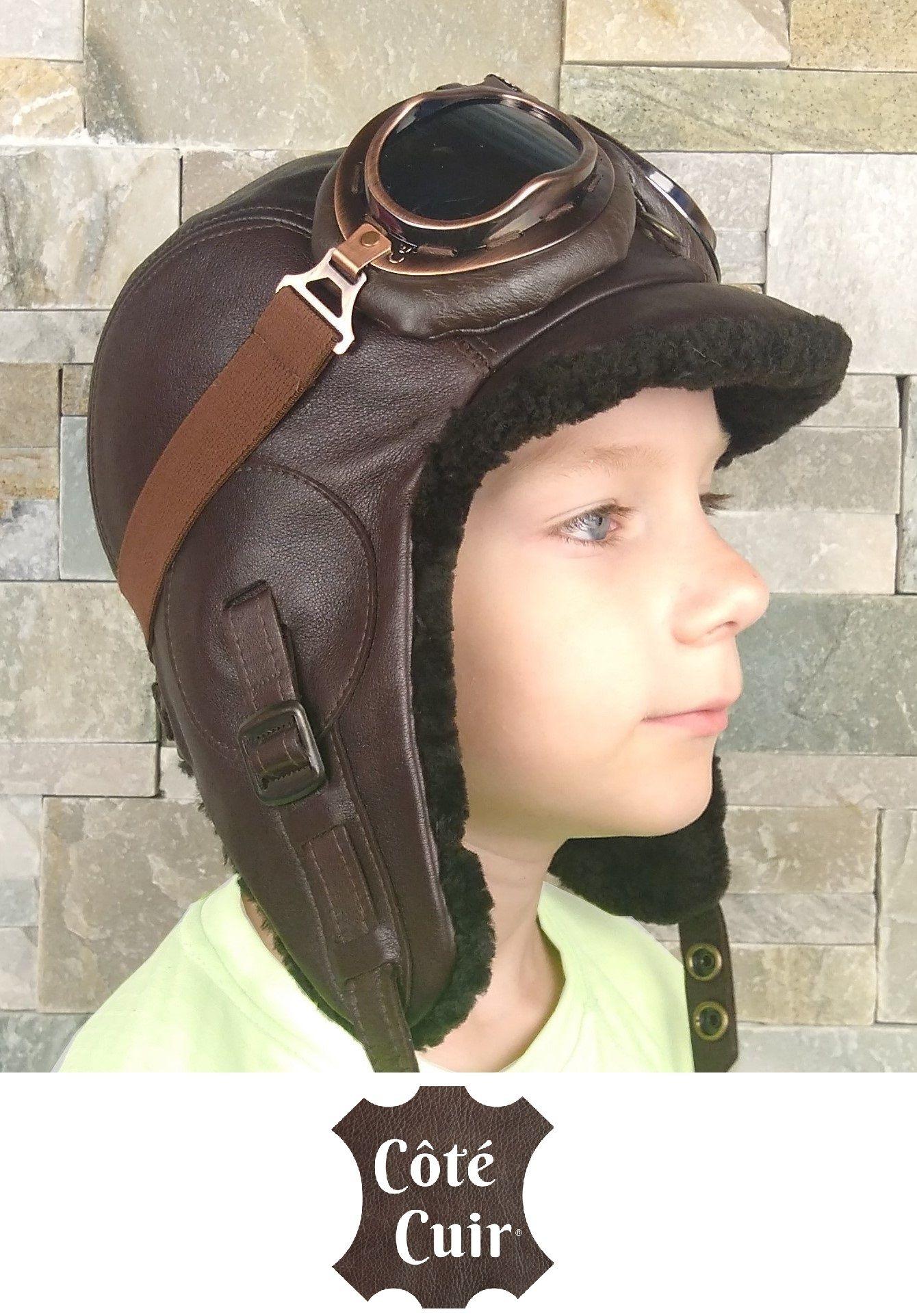 677c10d4a9a16 Kids aviator costume