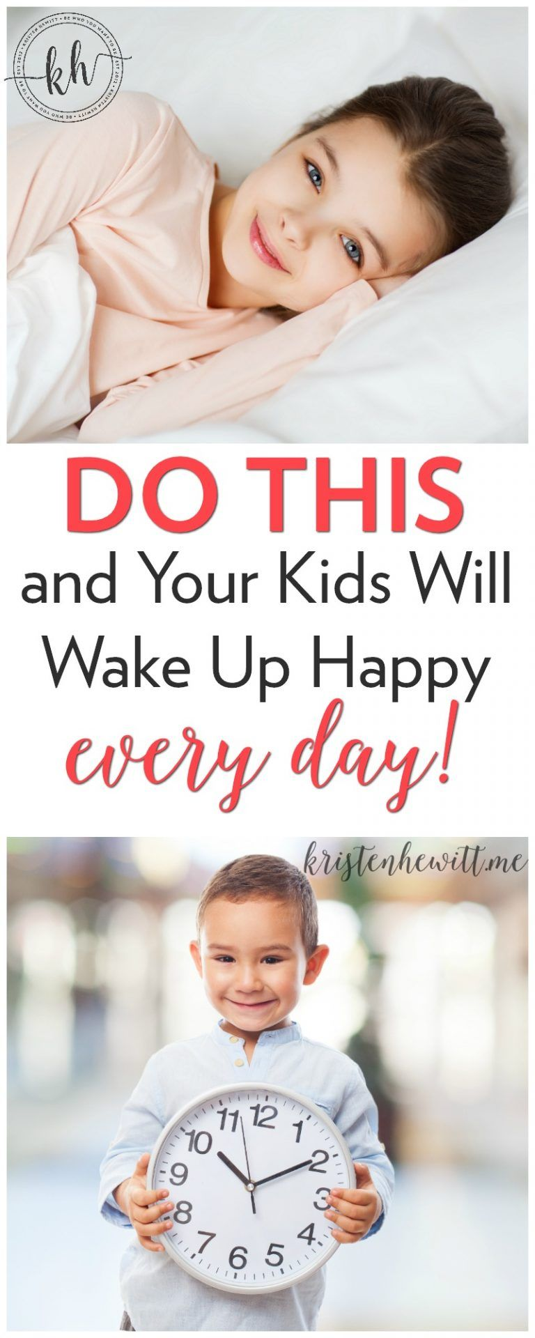 Do This and Your Kids Will Wake Up Happy Every Day   Smart ...